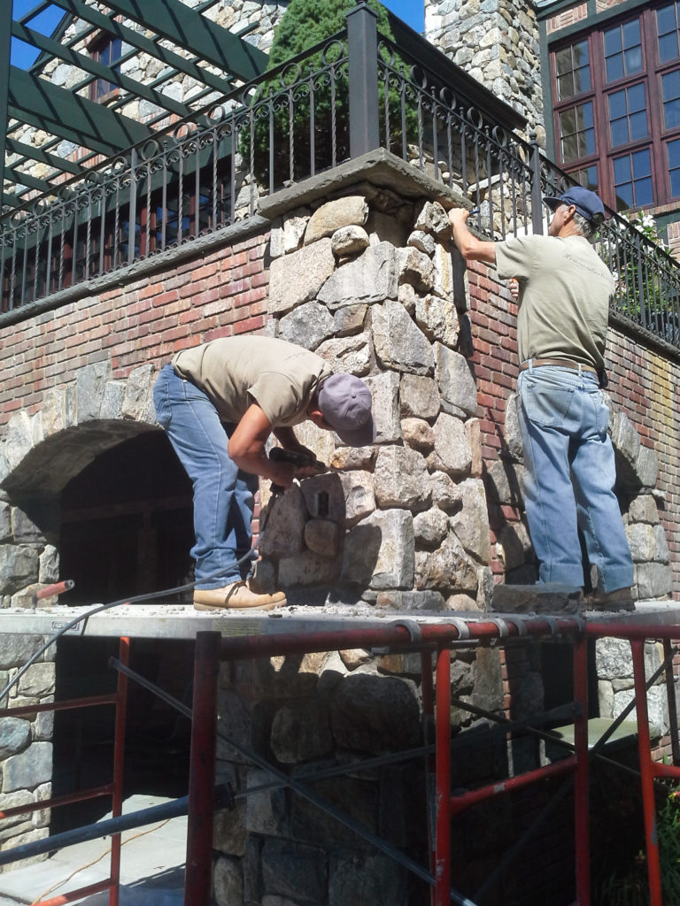 stonework-working-post